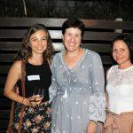 Katie Ferro, guest speaker Emma Robinson, Katrina Cini