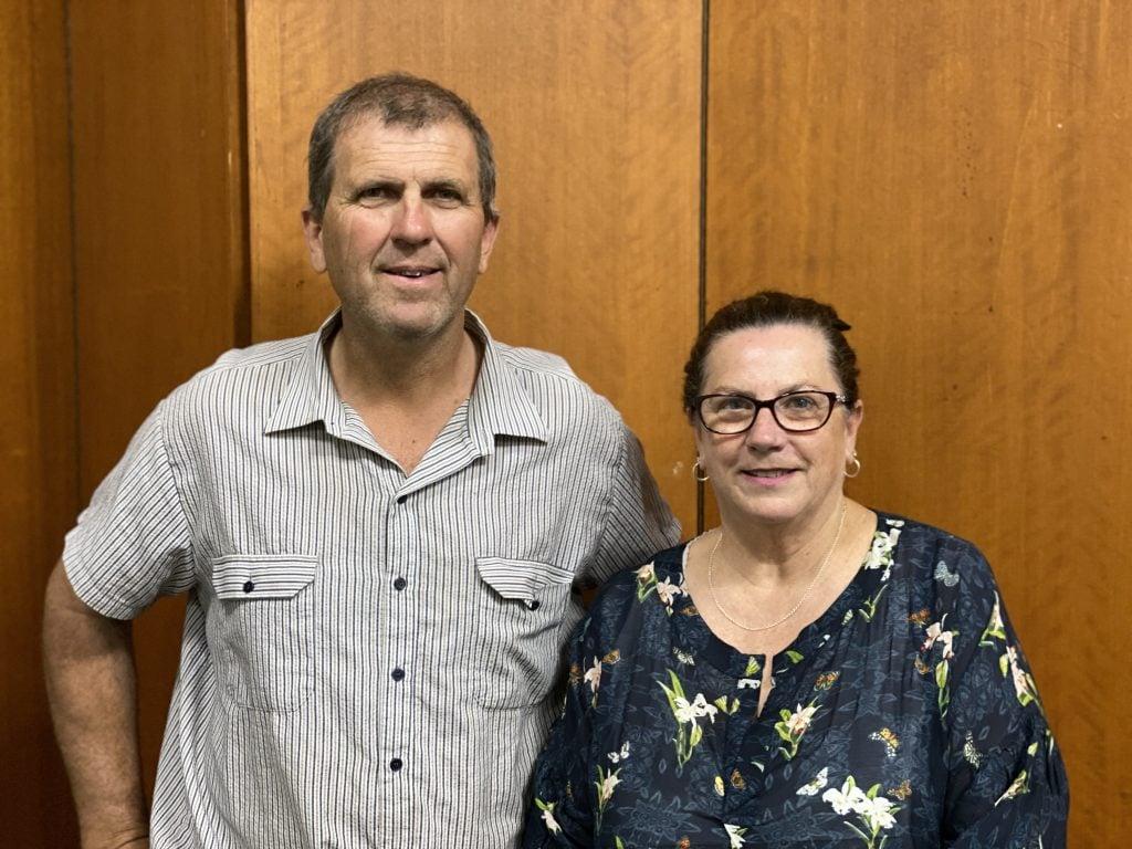 Team Nambucca: Tony Styles and Vicki McCudden (not pictured: Joyce Ward).